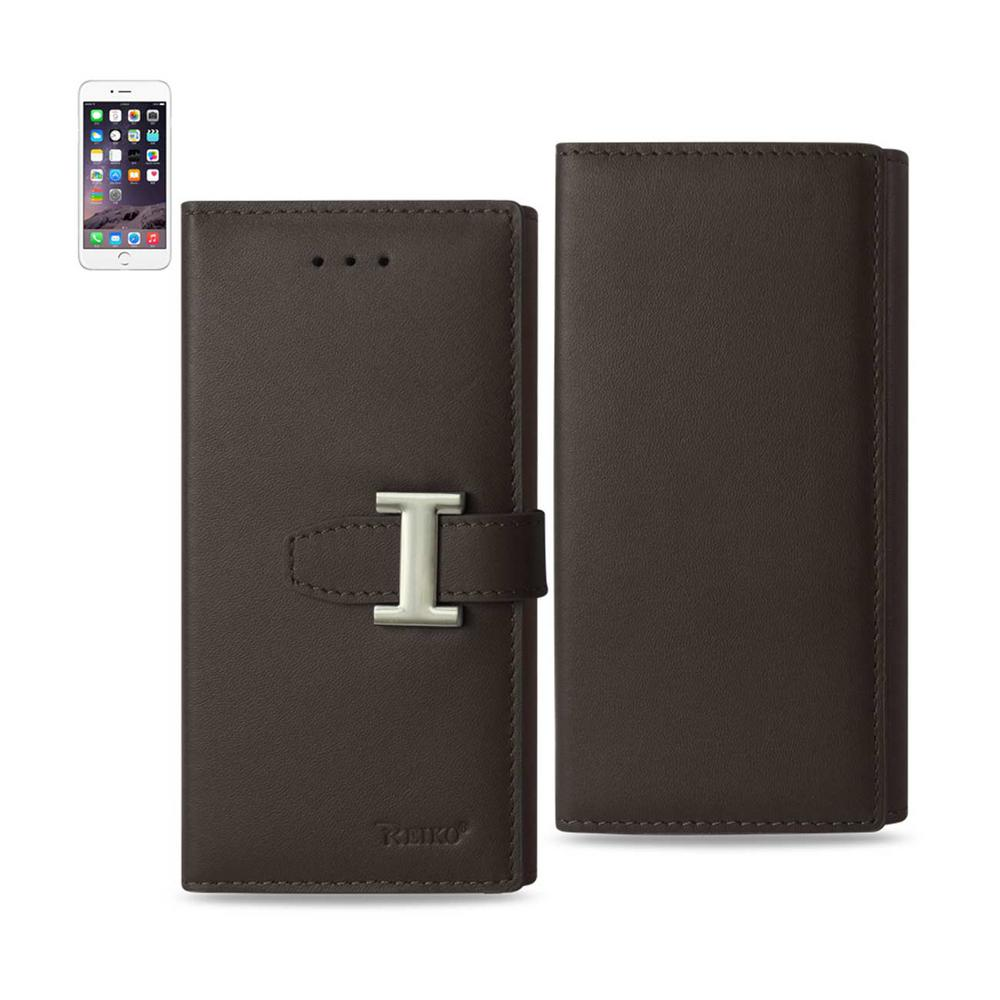 iPhone 6 Plus/6S Plus Genuine Leather Design Case in Umber