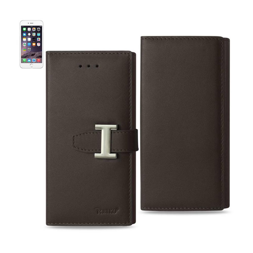 iPhone 6 Plus/6S Plus Genuine Leather Design Case in Umber