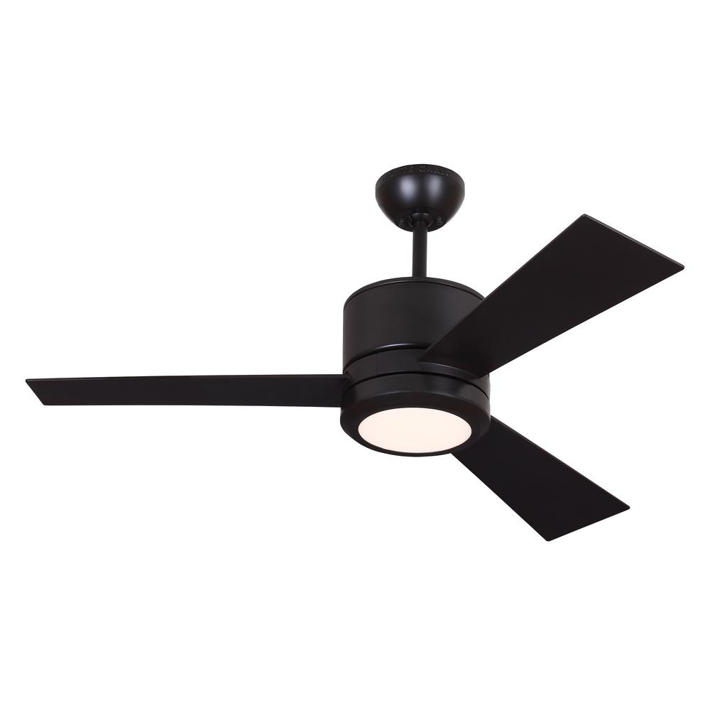 Clarkston 44 In Indoor Oil Rubbed Bronze Ceiling Fan With Light Kit White Low Profile 42 Wiring Diagram Model Vision Ii