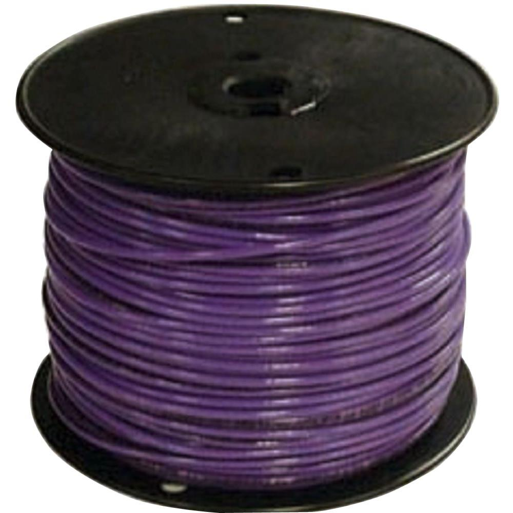Purple - Wire - Electrical - The Home Depot