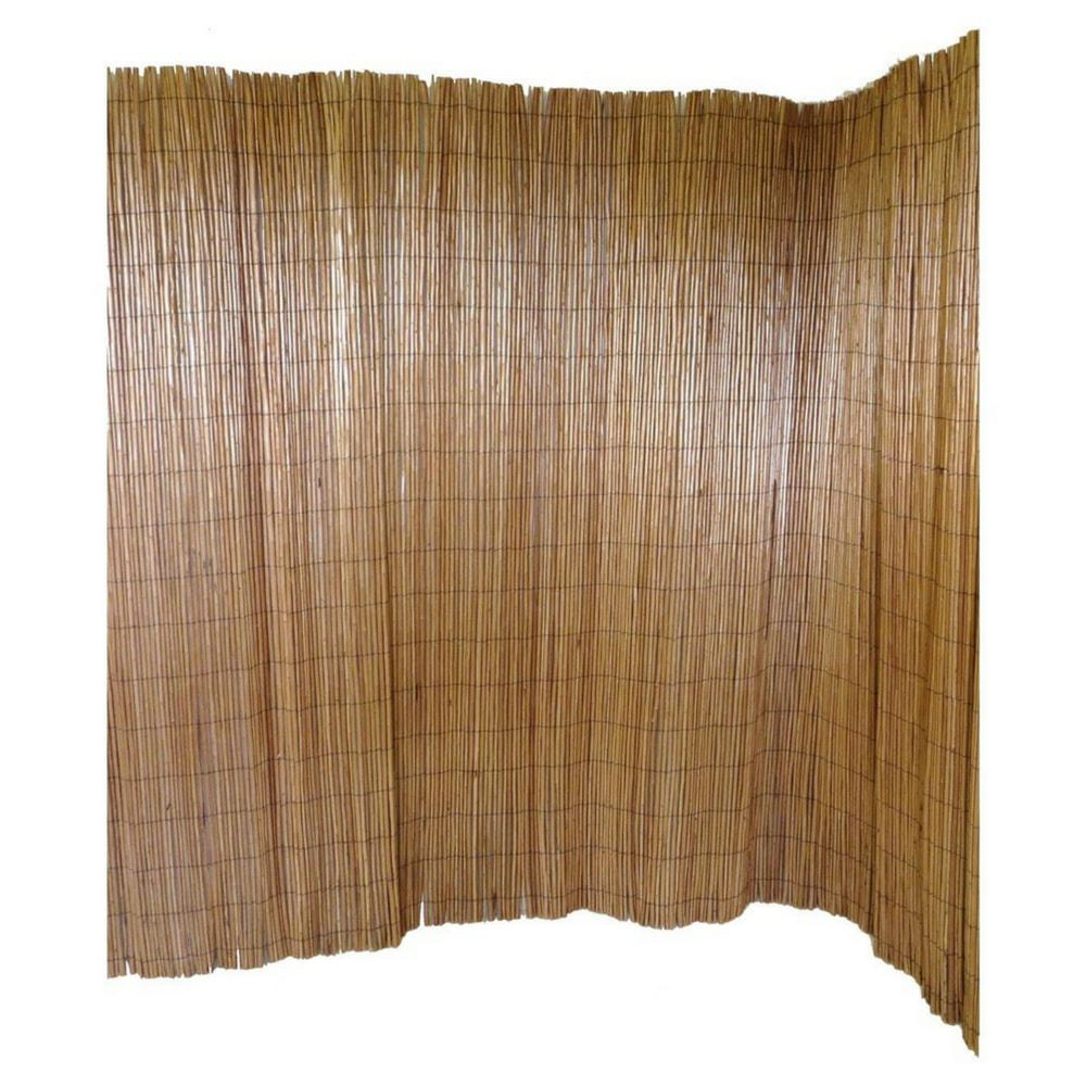 6 ft. H x 8 ft. L Peeled Willow Screen Fence