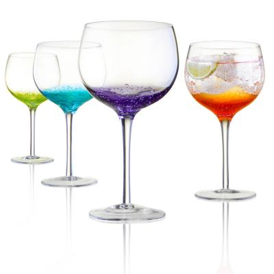 Fizzy Gin Glass/Balloon Red Wine Glasses (Set of 4)