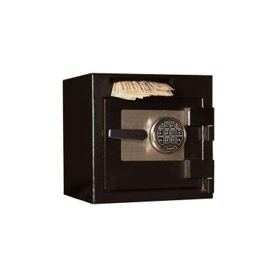 0.90 cu. ft. Steel Deposit Safe Electronic Lock, Black