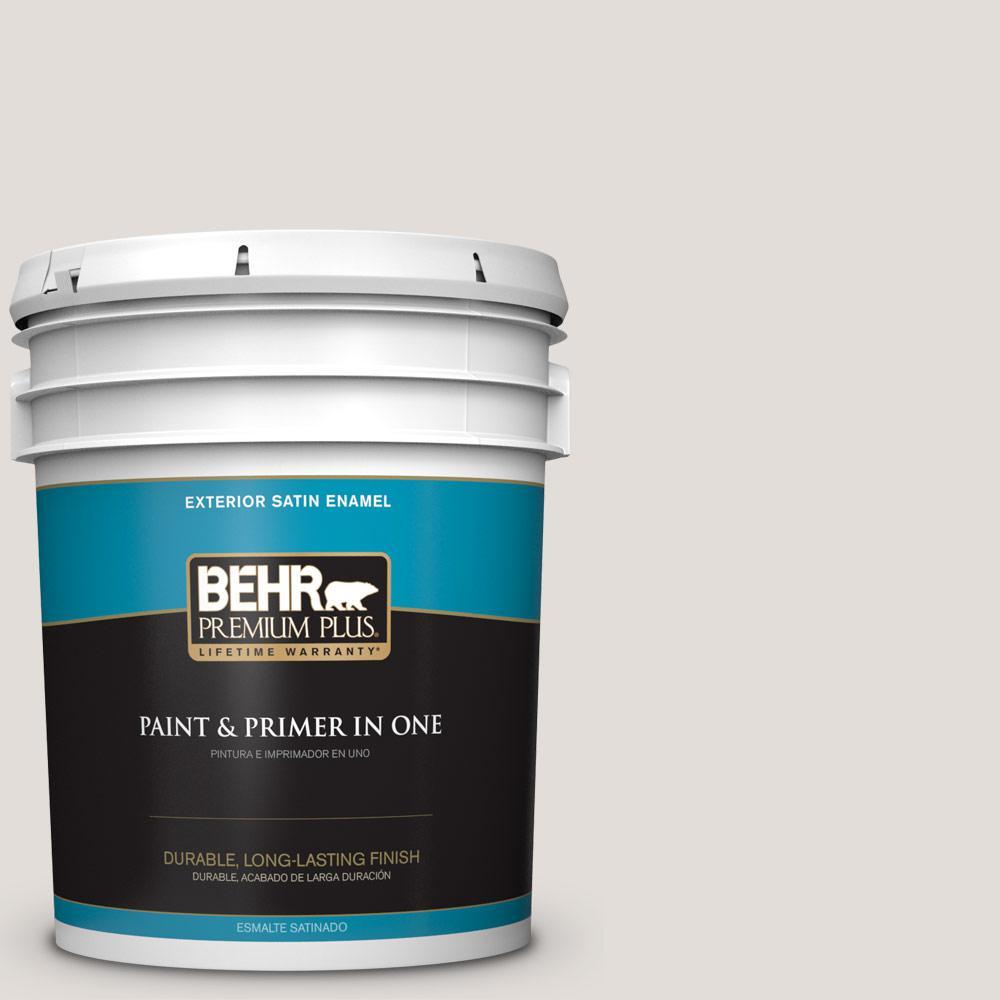 5 gal. #PPU17-06 Crushed Peony Satin Enamel Exterior Paint