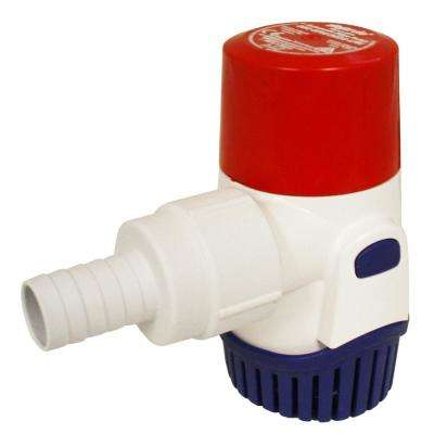0.018 HP Submersible 12-Volt Manual Bilge Pump