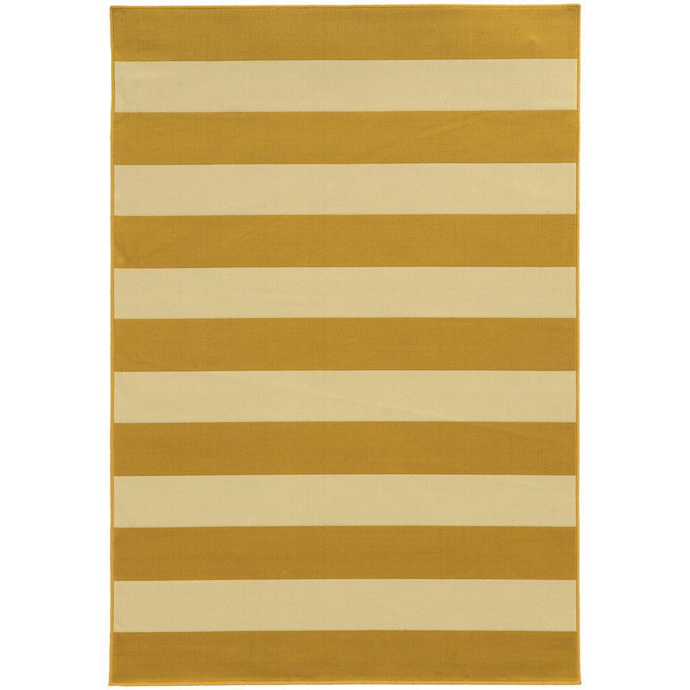 Home decorators collection nantucket goldenrod 3 ft 7 in for Home decorators indoor outdoor rugs