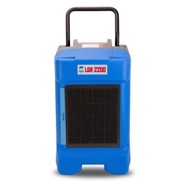 VG-2200 225 Pint Commercial LGR Dehumidifier for Water Damage Restoration Equipment Mold Remediation, Pack of 8, Blue