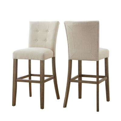 Debby Bar Chair Beige (Set of 2)