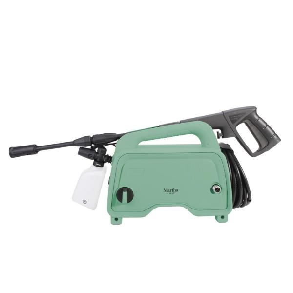 Martha Stewart MTS-1300PW-MGN Electric Pressure Washer with Adjustable Spray Wand | 1450 Max PSI | 11 Amp | 1.4 GPM (Mint)