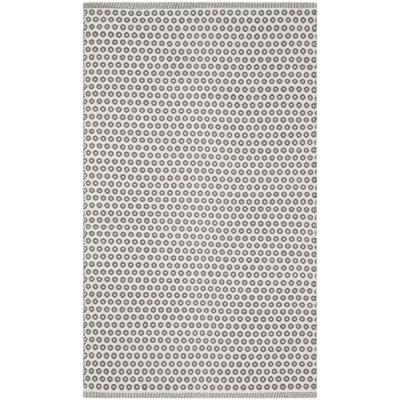 Montauk Gray/Ivory 3 ft. x 5 ft. Area Rug
