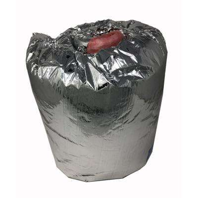 12 in. Dia x 5 ft. Length Ductwork Insulation Sleeve - R-8