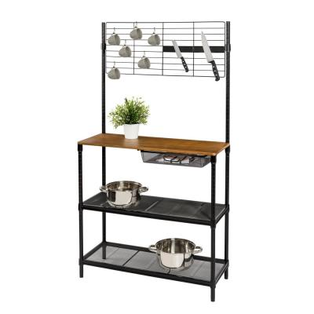 Baker\'s Racks - Kitchen & Dining Room Furniture - The Home Depot