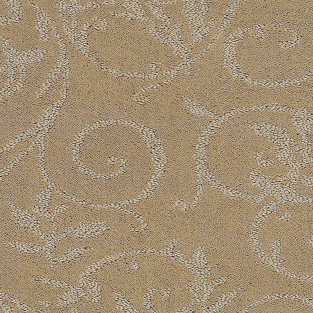 Carpet Sample - Cheriton - Color Woven Straw Pattern 8 in. x 8 in.
