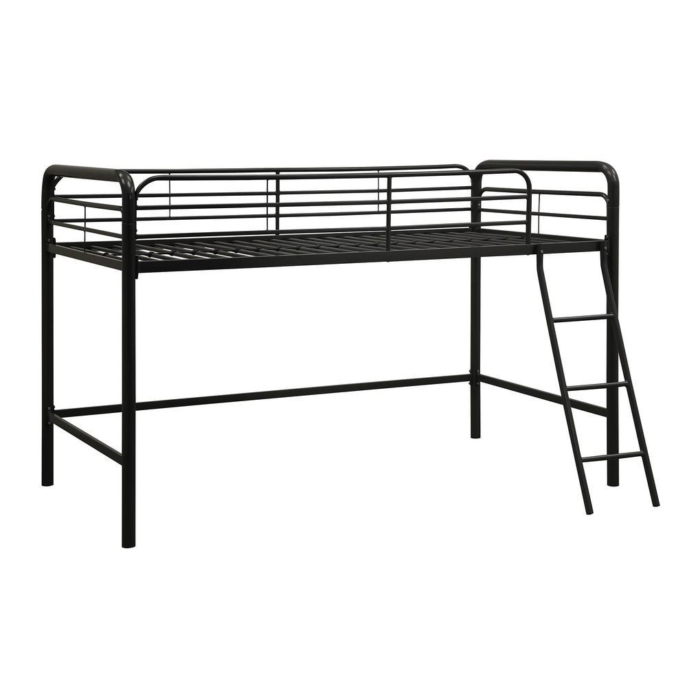 DHP Twin Metal Kids Loft Bed