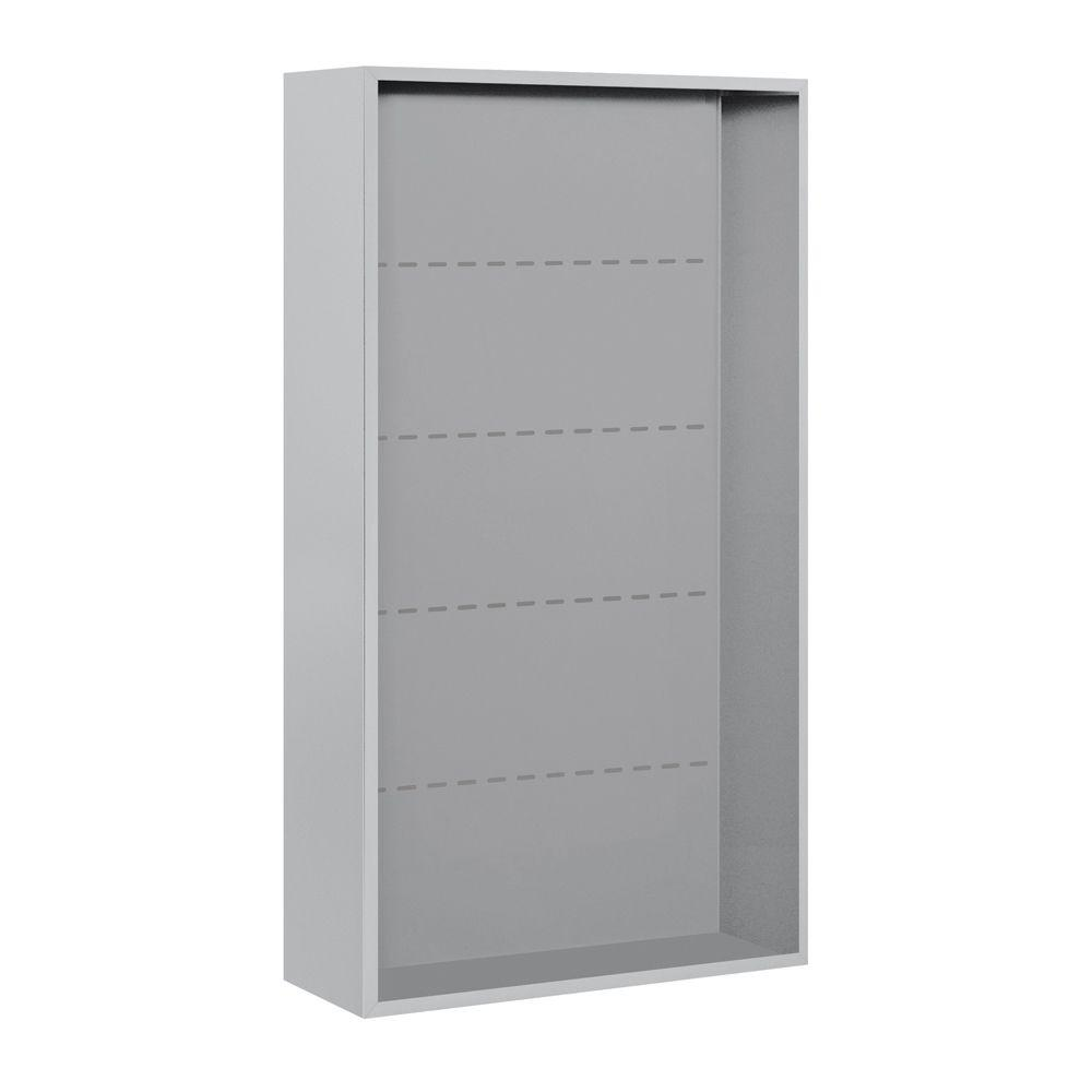3800 Series Surface Mounted Enclosure for Salsbury 3715 Double Column Unit