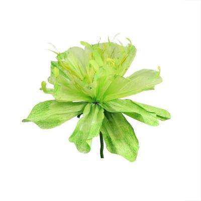 26 in. Green and Yellow Decorative Spring Floral Artificial Craft Stem