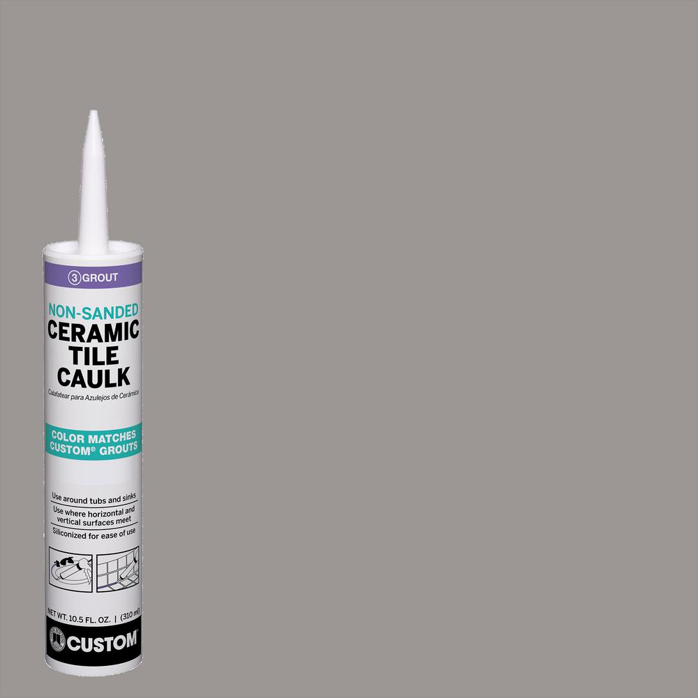 CustomBuildingProducts Custom Building Products Polyblend #165 Delorean Gray 10.5 oz. Non-Sanded Ceramic Tile Caulk