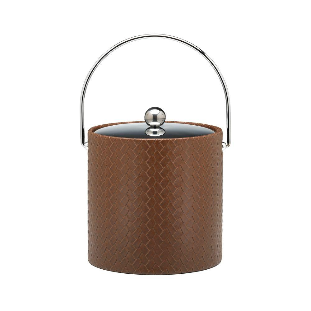 San Remo Pinecone 3 Qt. Ice Bucket with Bale Handle, Metal
