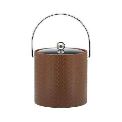 San Remo Pinecone 3 Qt. Ice Bucket with Bale Handle, Metal Lid