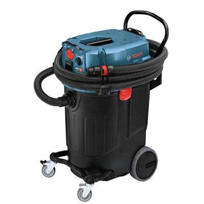14 Gallon Corded Wet/Dry Dust Extractor Vacuum with Automatic Filter Clean and HEPA Filter