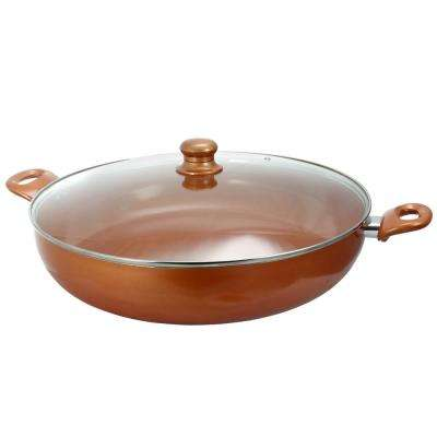 16 in. Ceramic Interior Skillet