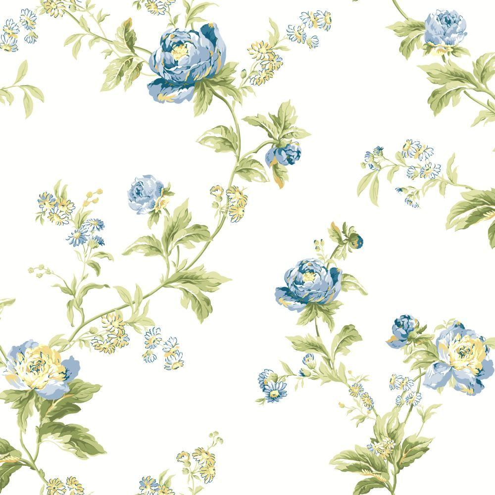 York Wallcoverings Waverly Classics Forever Yours Trail
