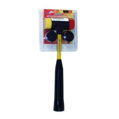 Quick Change 16 oz. Hammer with 4-Tips Fiberglass Handle