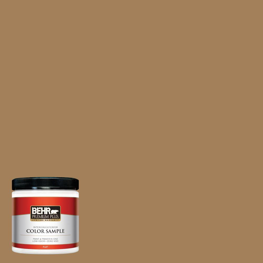 BEHR Premium Plus 8 oz. #S280-6 Hazel Interior/Exterior Paint Sample