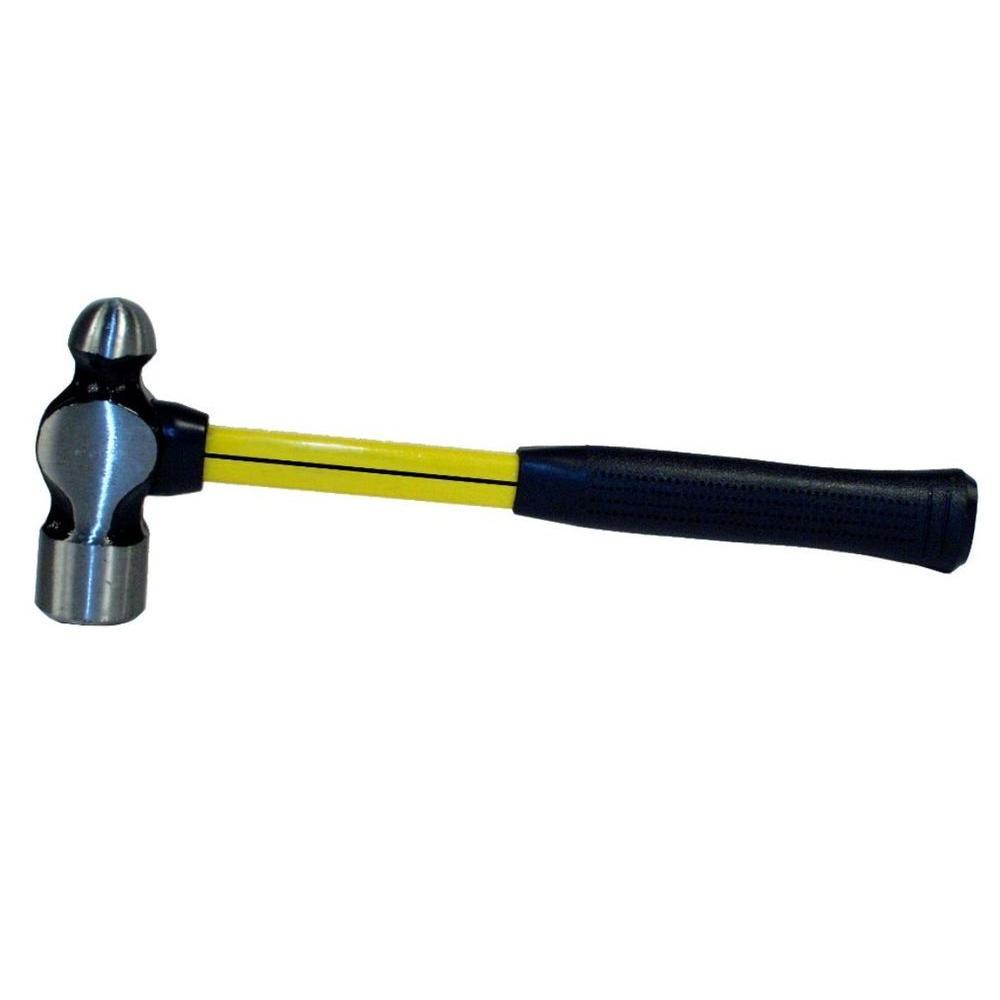 12 oz. Fiberglass Handle Ball Pein Hammer