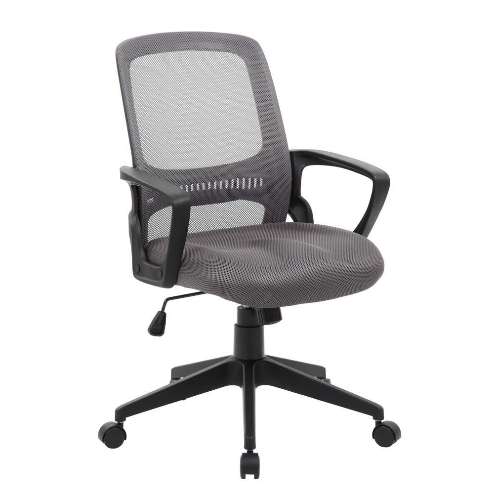 Grey Mesh Task Chair