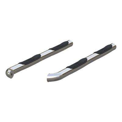 """3"""" Round Polished Stainless Steel Side Bars"""