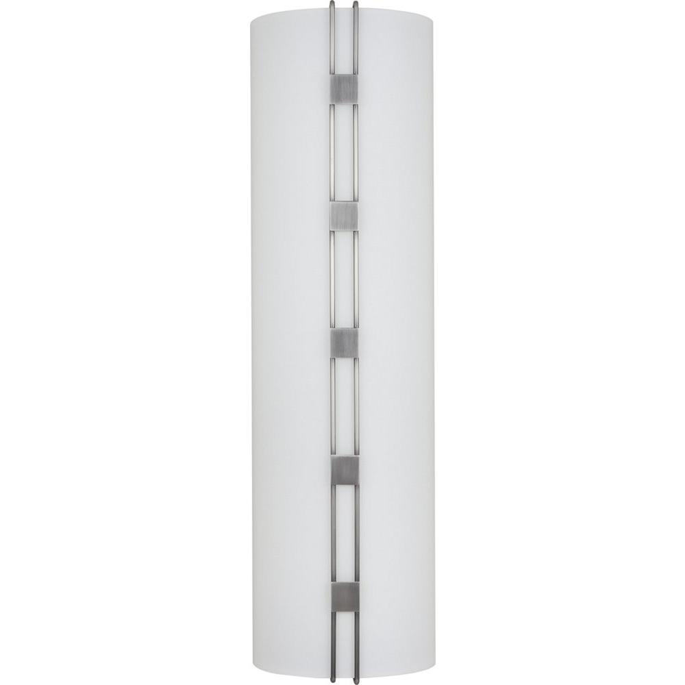 Volume Lighting Architectural 1 Light Black Brushed Nickel Interior