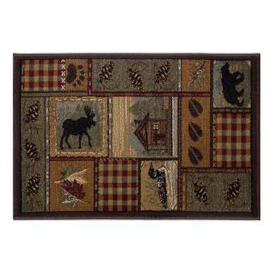 Tayse Rugs Nature Multi-Color 2 ft. x 3 ft. Accent Rug by Tayse Rugs