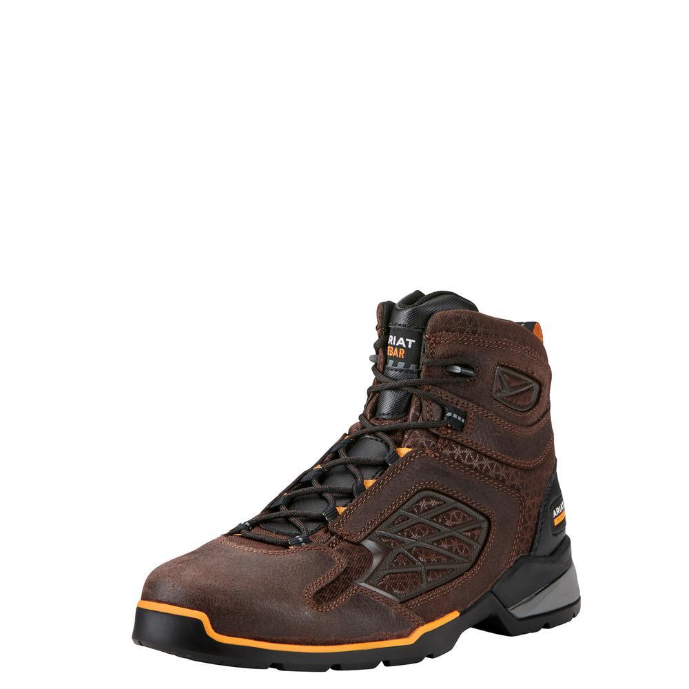 9bf23ad67dd Ariat Men's Size 10.5 D Chocolate Brown Rebar Flex 6