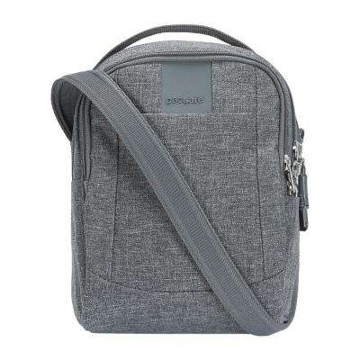 Metrosafe LS100 Dark Tweed Crossbody Bag