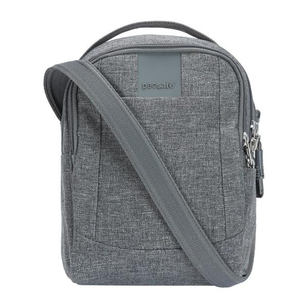 e4ad24ef73bc Pacsafe Metrosafe LS100 Dark Tweed Crossbody Bag 30400123 - The Home ...
