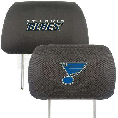 NHL - St. Louis Blues Mesh 13 in. x 10 in. Head Rest Cover