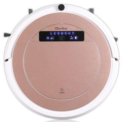 UV-C Sterilizer Robot Vacuum Cleaner with HEPA Filter with Wet Mop Kit - Rose Gold