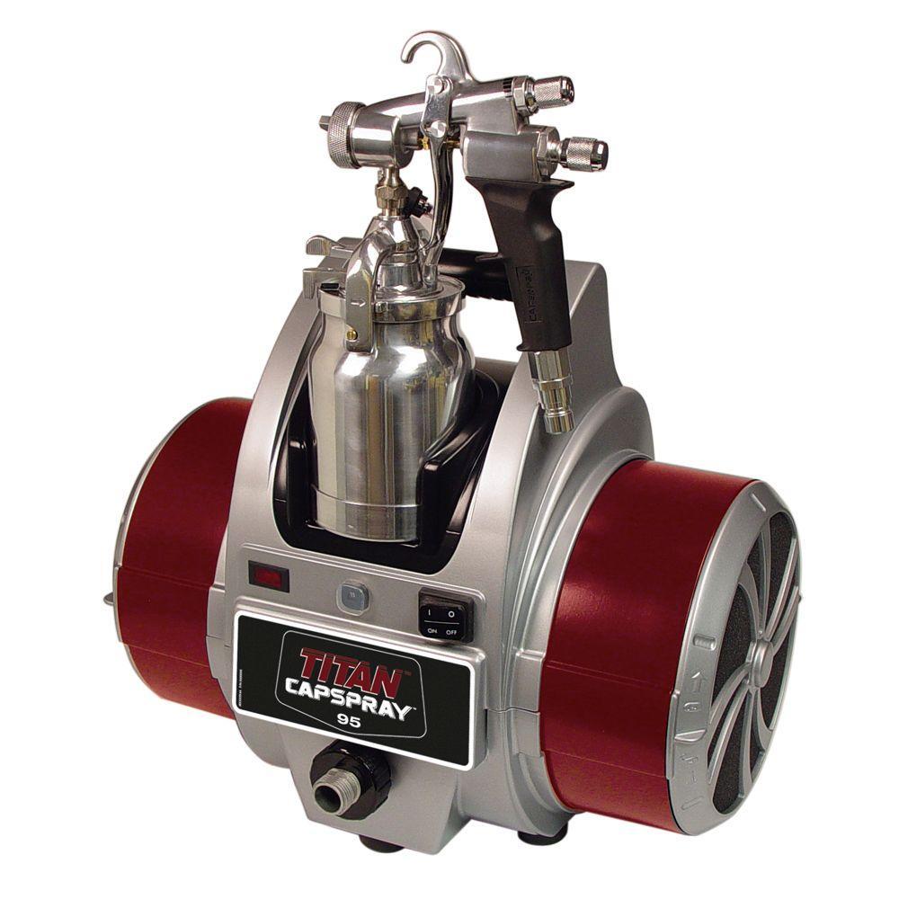 Earlex Spray Port HVLP Sprayer with Pressure Feed Gun