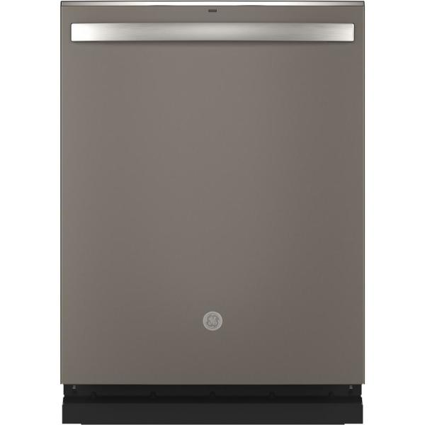 Adora Top Control Tall Tub Dishwasher in Slate with Stainless Steel Tub and Steam Cleaning, 48 dBA