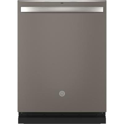 Top Control Tall Tub Dishwasher in Slate with Stainless Steel Tub and Steam Prewash, Fingerprint Resistant, 48 dBA