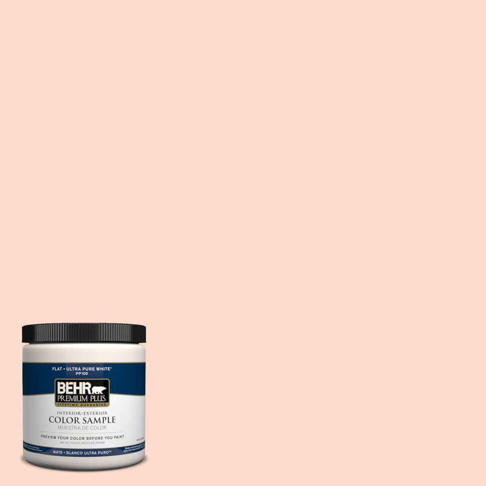 BEHR Premium Plus 8 oz. #PPH-25 Grapefruit Interior/Exterior Paint Sample