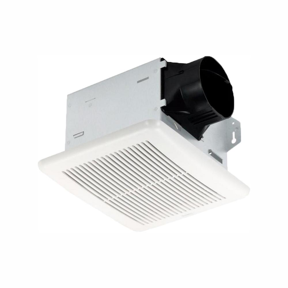 Delta Breez Integrity Series 50 CFM Wall or Ceiling Bathroom Exhaust Fan, ENERGY STAR