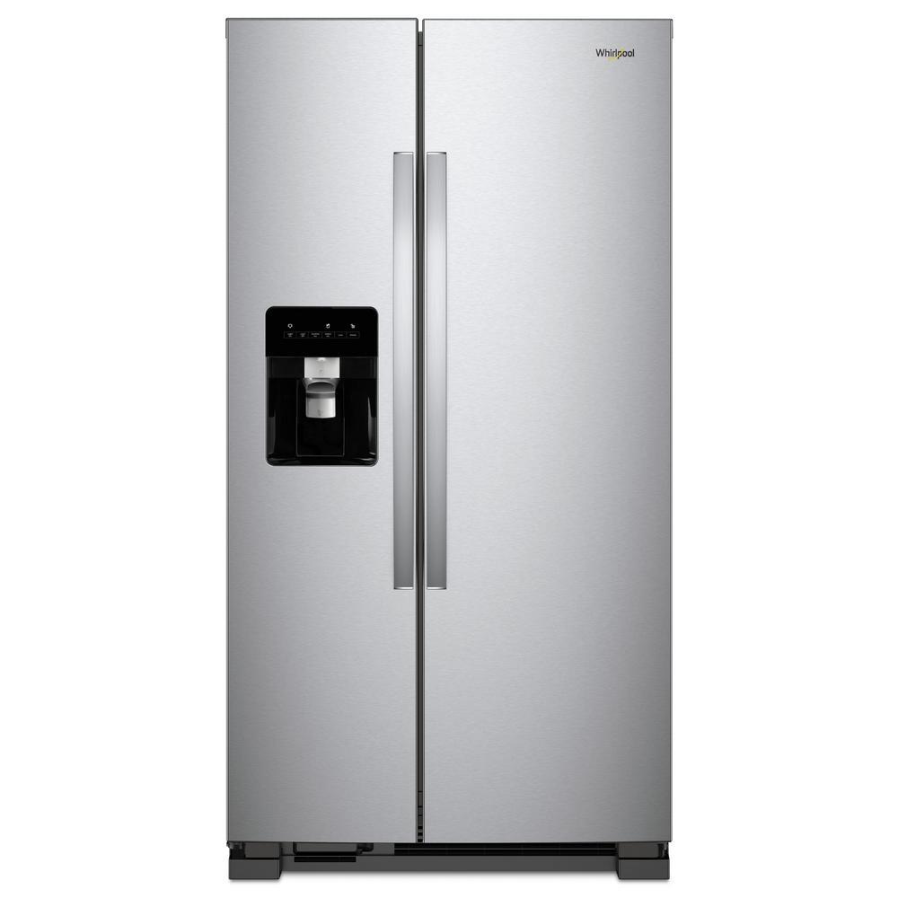 Cu Ft Side By Refrigerator