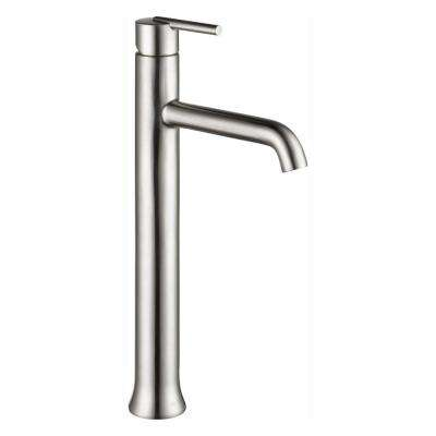 Trinsic Single Hole Single-Handle Vessel Bathroom Faucet in Stainless