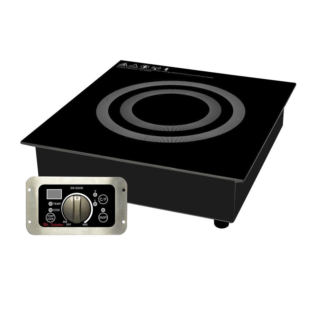 2600-Watt Commercial Induction Cooktop (Built-In)