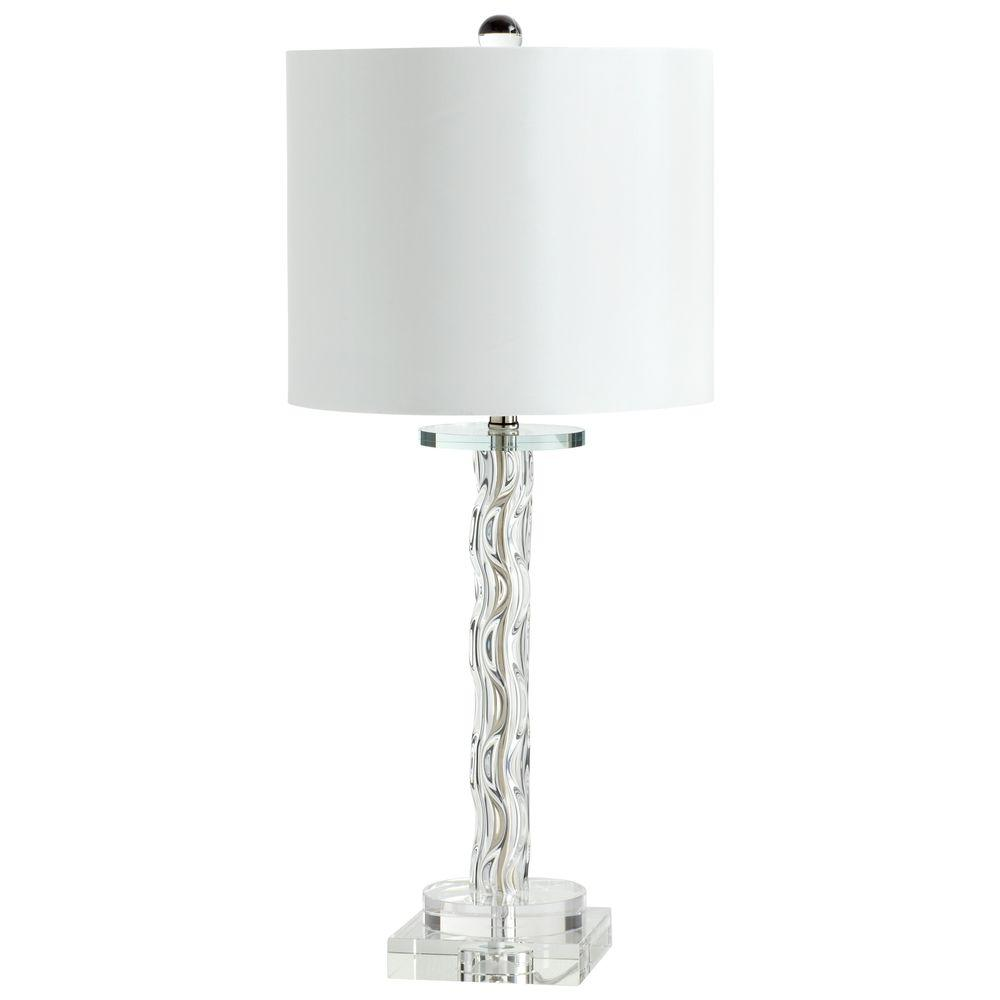 Filament Design Prospect 25 in. Glass Table Lamp