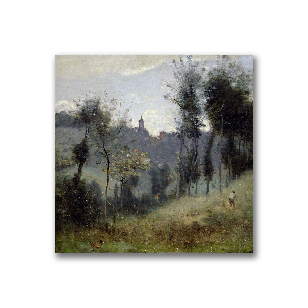 24 in. x 24 in. Canteleu near Rouen Canvas Art