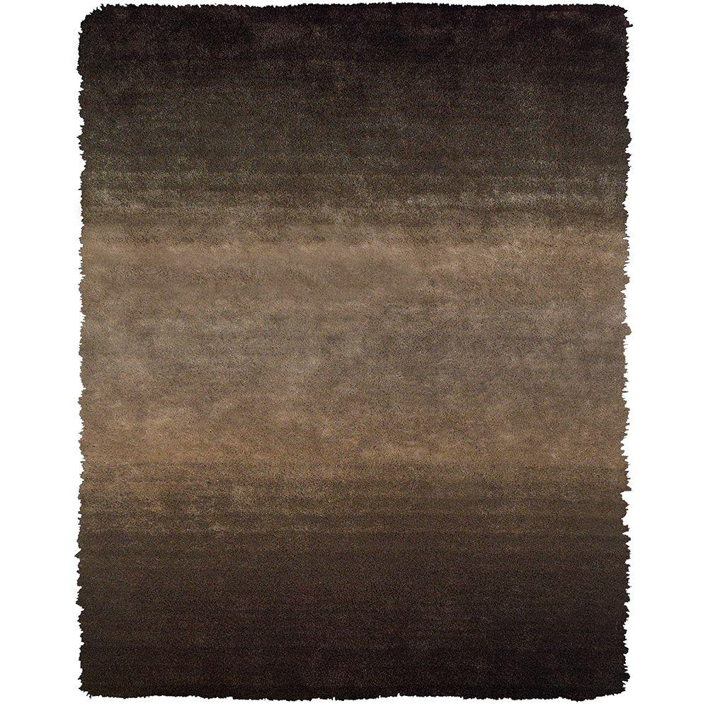Feizy Indochine Brown 7 ft. 6 in. x 9 ft. 6 in. Indoor Area Rug