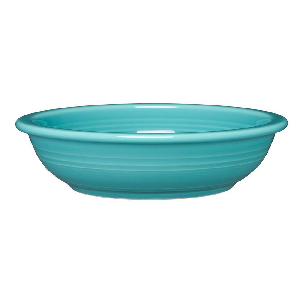 32 oz. Turquoise Pasta Bowl